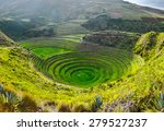 Ancient Inca Circular Terraces...
