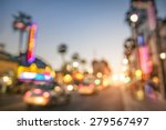 defocused blur of hollywood...   Shutterstock . vector #279567497