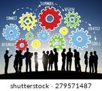 team teamwork goals strategy... | Shutterstock . vector #279571487