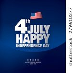 independence day 4 th july.... | Shutterstock .eps vector #279610277