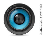 raster version. camera lens...   Shutterstock . vector #279613163