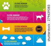 flyer brochure designs. pets...   Shutterstock .eps vector #279639383