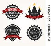 premium quality label sets | Shutterstock . vector #279690563