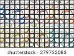 mega collection of wave... | Shutterstock .eps vector #279732083