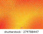 abstract red yellow floral... | Shutterstock .eps vector #279788447