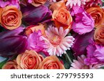 Beautiful Mix Flowers With...
