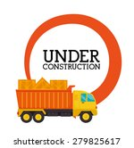 under construction design over... | Shutterstock .eps vector #279825617