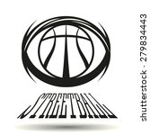 streetball icon logo modern... | Shutterstock .eps vector #279834443