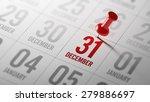 december 31 written on a...   Shutterstock . vector #279886697