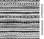 seamless geometric ethnic... | Shutterstock .eps vector #279903923