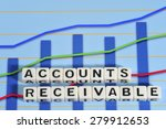 Small photo of Business Term with Climbing Chart / Graph - Accounts Receivable