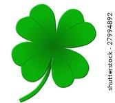 four leaf clover   shamrock... | Shutterstock . vector #27994892