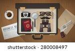 detective vintage briefcase
