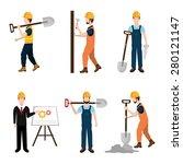 construction design over white... | Shutterstock .eps vector #280121147