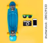 fashion summer look concept.... | Shutterstock . vector #280129133