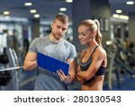 fitness  sport  exercising and... | Shutterstock . vector #280130543