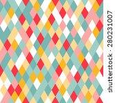 vibrant colorful random colored ... | Shutterstock .eps vector #280231007