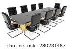 three quarter view of office... | Shutterstock . vector #280231487