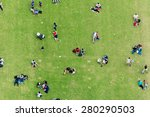 Ninety Degrees View Of People...