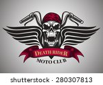 Motor Racing Skulls Graphic...