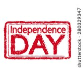 independence day stamp text... | Shutterstock .eps vector #280329347