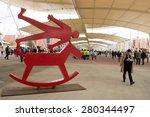 milan  italy may 04  2015 ... | Shutterstock . vector #280344497