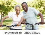 senior african american couple... | Shutterstock . vector #280362623