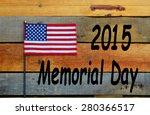 2015 memorial day  american... | Shutterstock . vector #280366517