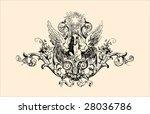 vintage engraving   Shutterstock .eps vector #28036786