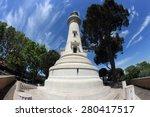 the manfredi lighthouse on...   Shutterstock . vector #280417517