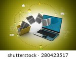 data transferring | Shutterstock . vector #280423517