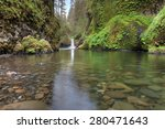 Punch Bowl Falls At Eagle Cree...