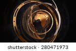 metal earth concept with... | Shutterstock . vector #280471973