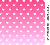 heart pink background icon... | Shutterstock .eps vector #280525157