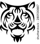 tiger | Shutterstock .eps vector #280530887