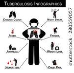 tuberculosis   tb  ... | Shutterstock .eps vector #280559057