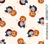 musical animal lion icon 10... | Shutterstock . vector #280580717