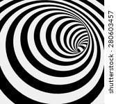 Spiral Striped Abstract Tunnel...