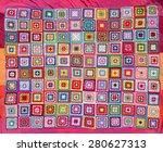 Blanket Of Granny Squares....