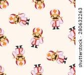 pastor and nun  seamless pattern | Shutterstock . vector #280632263