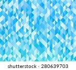 vector abstract blue light... | Shutterstock .eps vector #280639703