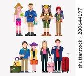 tourist   Shutterstock .eps vector #280644197