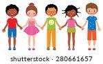 stock vector cartoon... | Shutterstock .eps vector #280661657