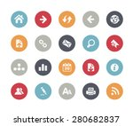 web icons    classics series | Shutterstock .eps vector #280682837