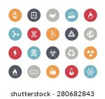 science signs and symbols   ... | Shutterstock .eps vector #280682843