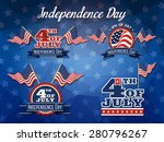 independence day badge... | Shutterstock .eps vector #280796267