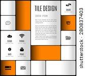 modern layout. design concept...