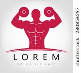 bodybuilder | Shutterstock .eps vector #280856297