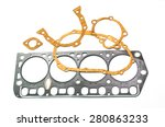 gaskets for motor | Shutterstock . vector #280863233