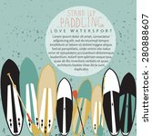 vector illustration of stand up ... | Shutterstock .eps vector #280888607